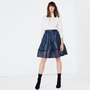 3616b84859 Maje Skirts   Janie Embroidered Tulle Midi Skirt 2m   Poshmark
